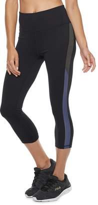 Fila Sport Women's SPORT Stretch Trim High-Waisted Capri Leggings