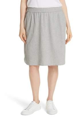 Eileen Fisher Cotton Knit Skirt