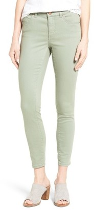 Women's Caslon Stretch Ankle Skinny Pants $69 thestylecure.com