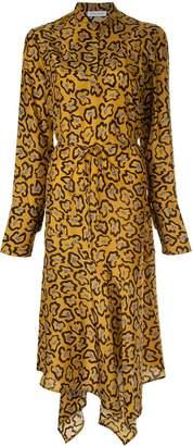 Christian Wijnants asymmetric printed dress