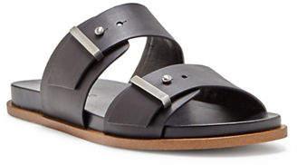 1 STATE Ocel Leather Slides