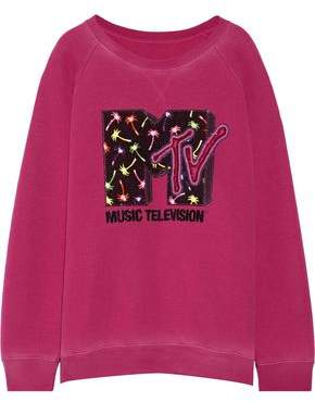 Marc Jacobs Appliquéd Jersey Sweatshirt