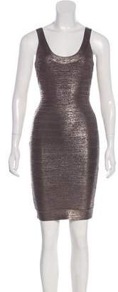 9f57a718a7aa Herve Leger Scoop Neck Dresses - ShopStyle