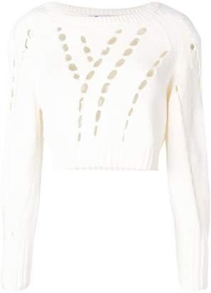 Alexander Wang cropped knit jumper