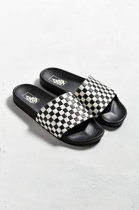 Vans Slide-On Checkerboard Sandal