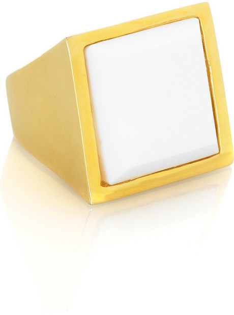 Kenneth Jay Lane Square cocktail ring