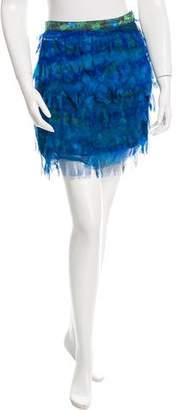 Samantha Pleet Silk Tatter Skirt