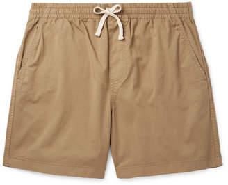J.Crew Dock Garment-Dyed Stretch-Cotton Drawstring Shorts