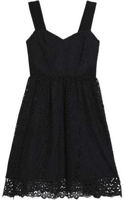 Claudie Pierlot Pleated Giupure Lace Dress