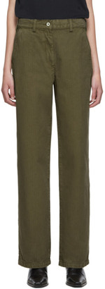 Our Legacy Khaki Workwear Trousers