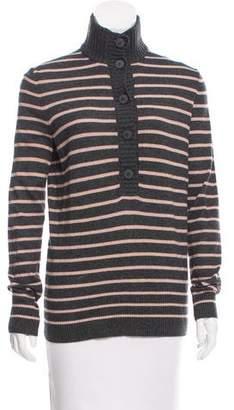 Tory Burch Striped Knit Sweater w/ Tags