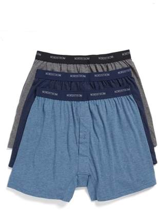 Nordstrom 3-Pack Supima(R) Cotton Boxers