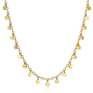 Satya Jewelry Plate Flutter Choker Necklace