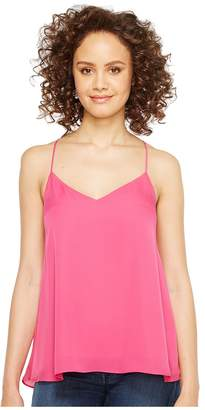 Heather Silk Swing Raceback Cami Women's Sleeveless