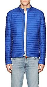 Save The Duck SAVE THE DUCK MEN'S CHANNEL-QUILTED JACKET-BLUE SIZE S
