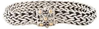 John Hardy Dot Oval Bracelet