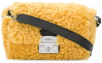 Furla fur cross body bag