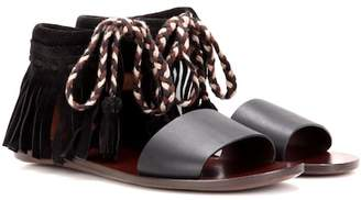 See by Chloe Fringed leather sandals