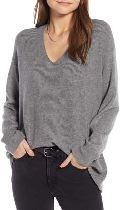 Something Navy Slouchy Sweater