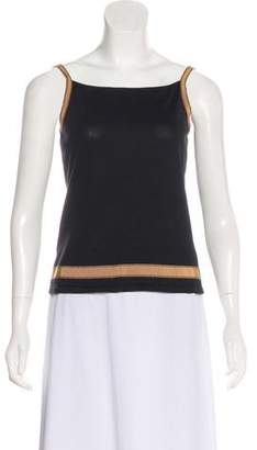 Salvatore Ferragamo Sleeveless Knit Top