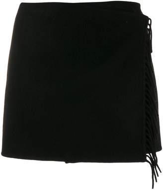 P.A.R.O.S.H. wrap mini skirt
