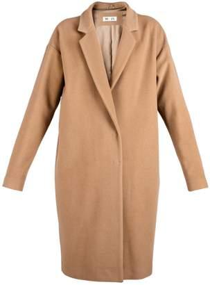 Muza Camel Wool & Cashmere Cocoon Coat