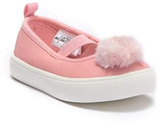 Carter's Anessa Faux Fur Pompom Mary Jane Flat (Toddler & Little Kid)