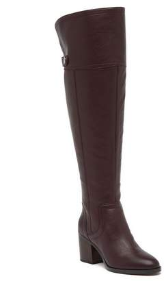 Franco Sarto Ollie Leather Over The Knee Boot - Wide Calf