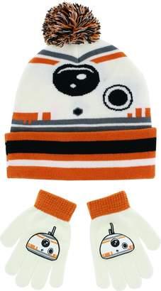 Disney Star Wars BB8 Kids Knit Hat and Gloves Set