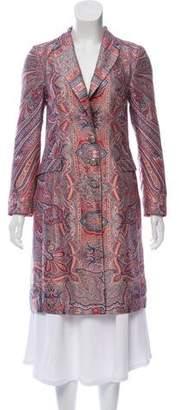 Etro Paisley Pattern Silk Coat