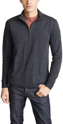 Billy Reid Charles Half Zip Pullover