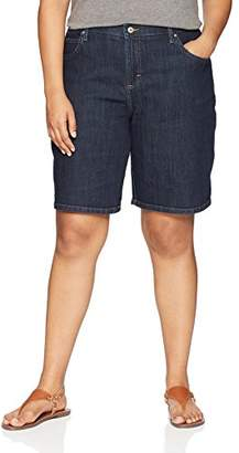 Lee Women's Plus Size Relaxed-Fit Bermuda Short