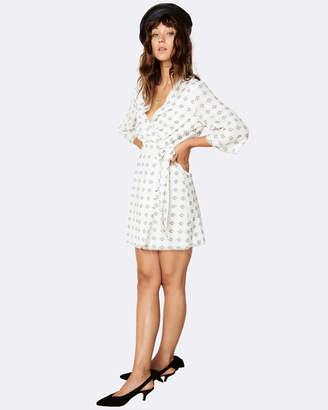 Ruth Wrap Mini Dress