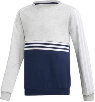adidas Big Boys Colorblocked Sweatshirt