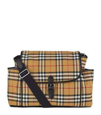 c1c029a5f38f5 Burberry Vintage Check Baby Changing Shoulder Bag