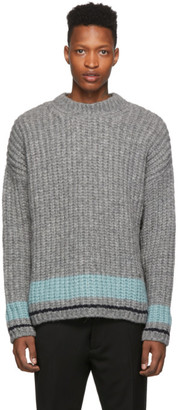 DSQUARED2 Grey Knit Sweater