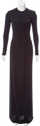 Calvin Klein Collection Gathered Evening Dress