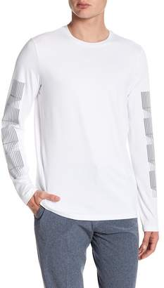 Perry Ellis Long Sleeve Stretch Tee