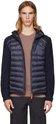 Parajumpers Navy Warm-Up Nolan Jacket