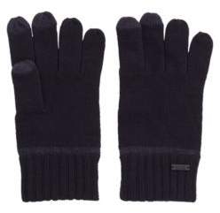 BOSS One-size gloves with touchscreen-friendly fingertips