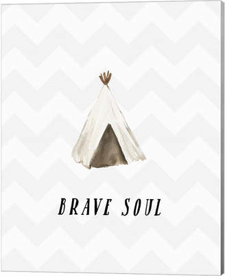 Brave Soul By Tara Moss Canvas Art