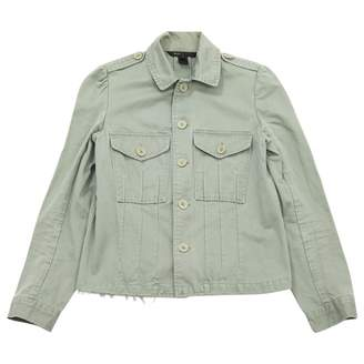 Marc Jacobs Green Cotton Jackets
