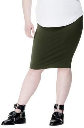 Universal Standard Danube Jersey Skirt