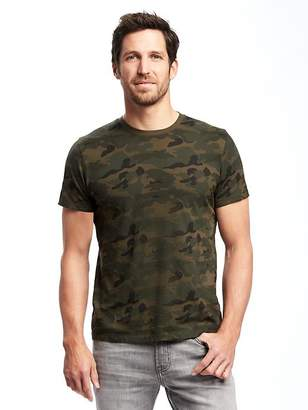 Old Navy Soft-Washed Printed Crew-Neck Tee for Men