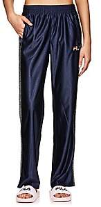 Fila Women's Logo Sparkly-Striped Pants-Dk. Blue