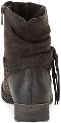 Børn B.O.C. Womens Abernath Leather Closed Toe Ankle Fashion