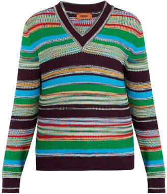 Missoni Striped cotton sweater