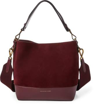 Ralph Lauren Suede Small Hobo Bag
