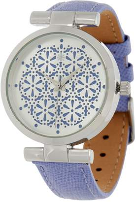 Isaac Mizrahi Live! Lace Dial Strap Watch