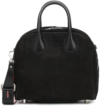 Christian Louboutin Marie Jane small suede tote